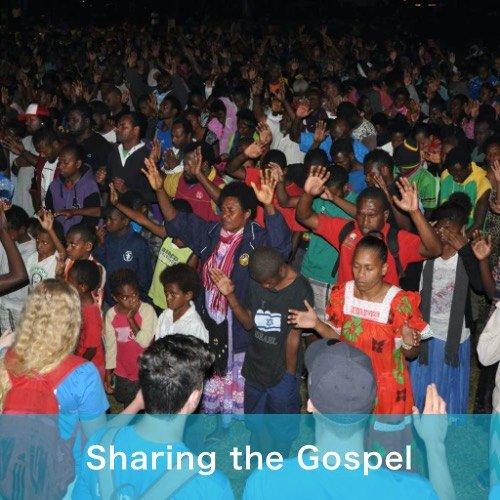 Sharing the Gospel - new gallery